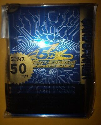 YUGIOH Card Sleeves 5DS 50Pcs 62X89mm BLUE