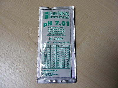 Hanna Ph Solution Calibrage Tampon Evaluation Sachet 7.01 - Haute 70007/HI-70007
