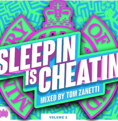 MINISTRY OF SOUND - Sleepin Is Cheatin Vol 2  BRAND NEW SEALED CD