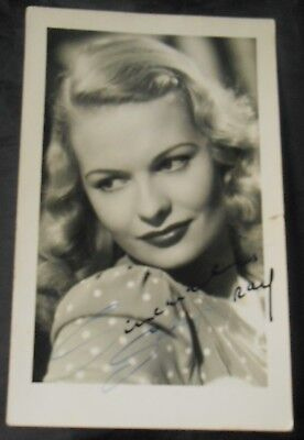 SALLY GRAY - HAND SIGNED PHOTOGRAPH OF THE 1930s & 1940s FILM STAR