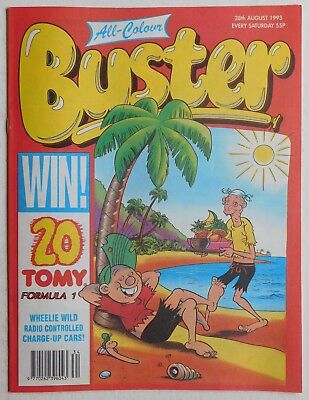 BUSTER COMIC - 28th August 1993