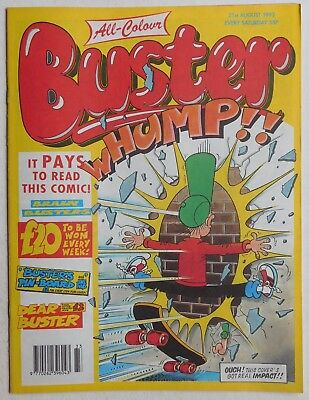 BUSTER COMIC - 21st August 1993