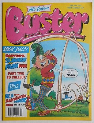 BUSTER COMIC - 24th July 1993