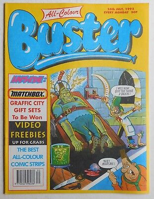 BUSTER COMIC - 25th July 1992