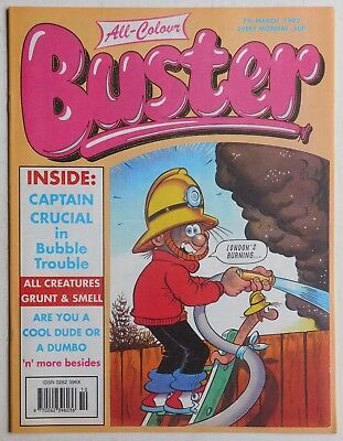 BUSTER COMIC - 7th March 1992