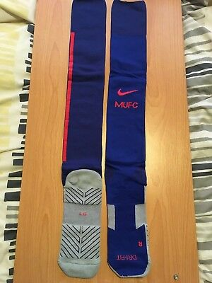 Manchester United 3rd Official Nike Mens Football Socks UK Size 8 - 11 NEW