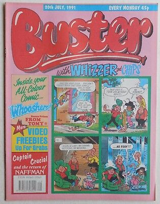 BUSTER COMIC - 20th July 1991