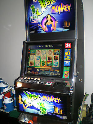 Slot Machine Video WMS / Williams Jade Monkey 550 with LCD also Stand and chair