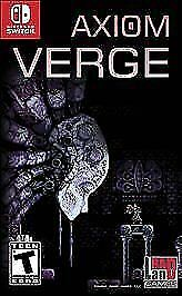 Axiom Verge Standard Edition Nintendo Switch Brand New Factory Sealed