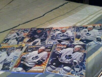 A Lot Of 8 1997-1999 Hockey Night In Toronto Back Issues Magazines
