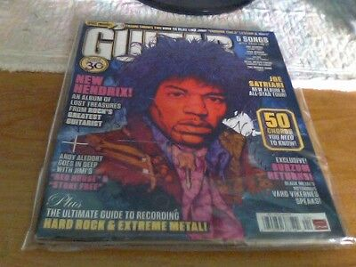 A 2010 Guitar Magazine Titled New Jimmy Hendrix Special 30 Years