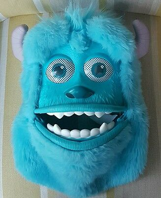 Monsters Inc University Sulley Mask with Moving mouth and eyebrows