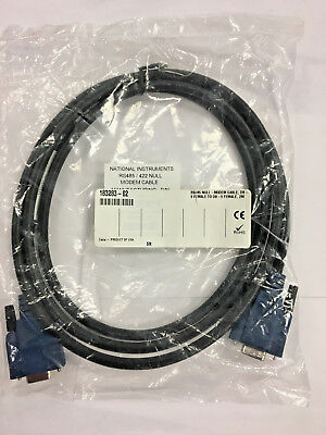 NEW National Instruments 183283-02 RS485 / 422 Null Modem Cable (2 Meters)