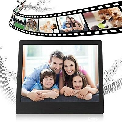 Generic 7 Inch Digital Photo Frame High Resolution LCD Screen w Remote Control