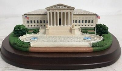 Danbury Mint ~ Symbols Of America Series ~ The Supreme Court, Washington DC