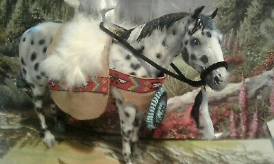 native american traditional size model horse costume