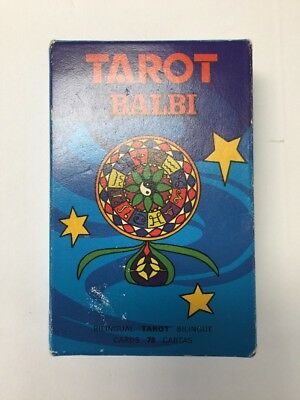 Tarot Balbi Boxed set of 78 cards by Domenico Balbi with bilingual instructions