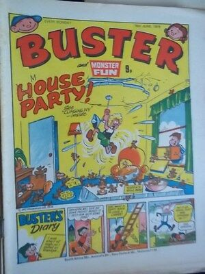 Buster & Monster Fun Comic.[ 16 June 1979]. Leopard From Lime Street