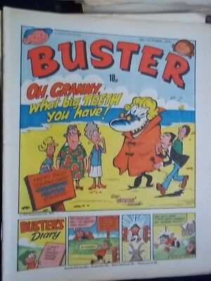 Buster Comic.[ 20Th Oct 1979].