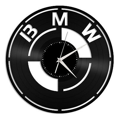 BMW Vinyl Wall Clock Unique Gift for Car Lovers Decoration Bedroom Home Decor