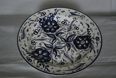 Large Spanish blue and white serving plate - very pretty tableware or wall hang