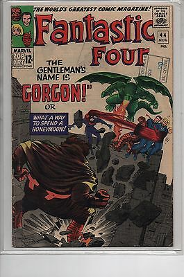 Fantastic Four #44 - 1st appearance of Gorgon