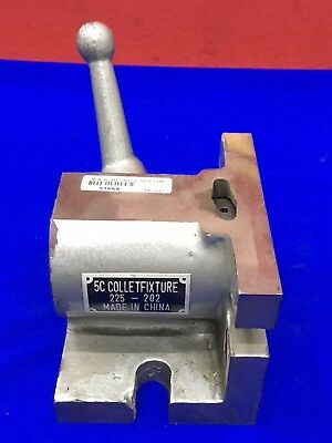 5C Collet Fixture 225-202 With Locking Device (No Collet/rod Included)