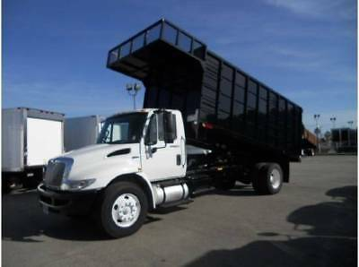 Roofer Dump Truck Roofing Landscape Contractor Paving International Ford Gmc