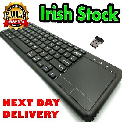 Thin Wireless 2.4G Wifi Keyboard With Touchpad Mouse For Tablet Phone  Smart Tv