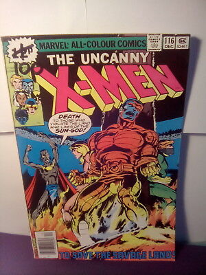 "X - MEN 116 ,  MARVEL BRONZE AGE 1978 "" SAVE THE SAVAGE LAND"" lot1..*UK.ONLY"