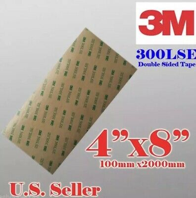 "3M 300LSE 4x8""SUPER STRONG DOUBLE SIDED TAPE SHEET PAD - Auto Emblem Repairs"