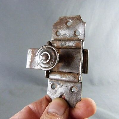 French Antique, Iron Slide. Bolt Latch Lock Rustic, Handmade