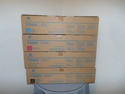 Genuine Konica Minolta TN213 Color Toner Set New in Box!