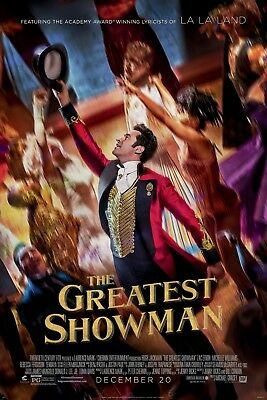 The Greatest Showman Movie Poster - Various Sizes + Free A3 Surprise Poster (2)