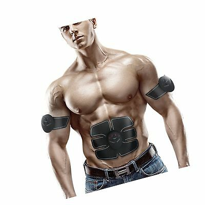SHENGMI M2  ABS Trainer Ab Belt ,Abdominal Muscles Toner,Body Fit Toning Belt,Fi