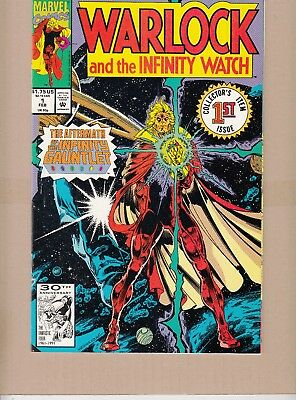 Warlock And The Infinity Watch  #1 1992 -Infinity Gauntlet- Starlin/austin...vf+
