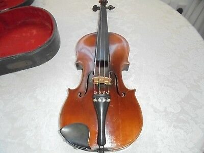 FRENCH ANTIQUE VIOLIN 4/4, WITH lABEL