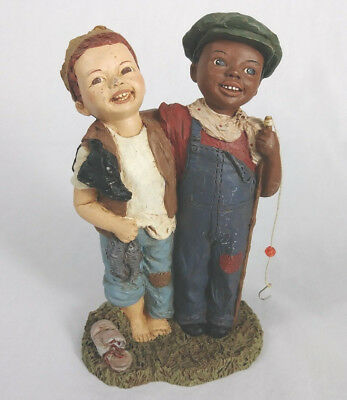 All God's Children Simon & Andrew by Miss M. Martha Holcombe 1993 Made In USA