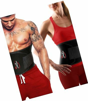 JollyGear Waist Trimmer Belt for Women or Men is Extra Wide and Long for much Fa