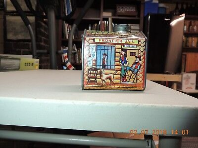 Vintage Log Cabin Syrup Tin- Never Opened Frontier Jail