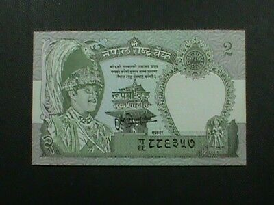 NEPAL  2 Rupees  # 29 - B  SIGN 13  UNCIRCULATED  =  extra  notes  ship  FREE