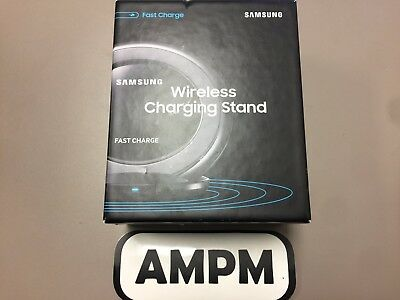 New Samsung Fast Charge Wireless Charging Stand QI Charger OEM Packaging Black