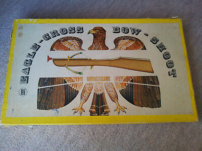 Vintage Wooden Crossbow in  Original Box Excellent condition.