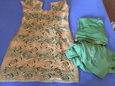 New Ladies Punjabi Suit Salwar Kameez Size 14-16