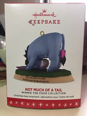 Hallmark Keepsake Ornament Winnie The Pooh Collection 2016 Eeyore