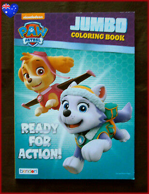 PAW PATROL - JUMBO COLOURING & ACTIVITY Book - Ready for Action! 96 pg - NEW