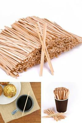 "Coffee Stirrers 5.5"" Royal 1000 Count Wooden Craft Popsicle Stir Sticks Home NEW"