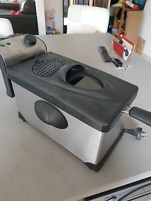 Deep Fryer with Basket ,Chips, Spring Roll etc Stainless Steel