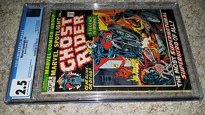Marvel Spotlight #5 Intro First Appearance of Ghost Rider CGC 2.5 1972