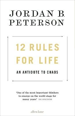 12 Rules for Life by Jordan B. Peterson - Paperback